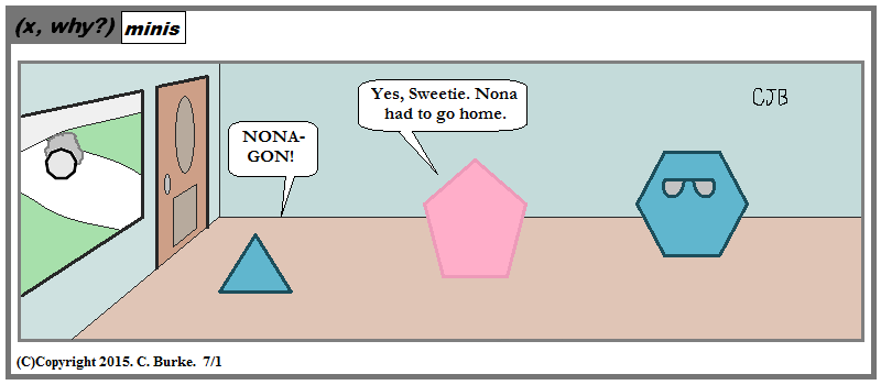 x, why?): (x, why?) Mini: Nonagon