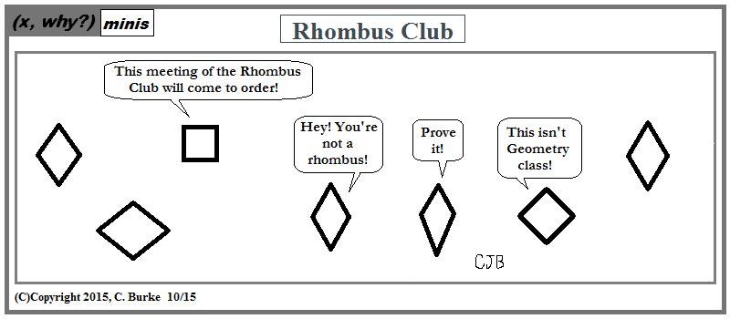 X Why X Why Mini Rhombus