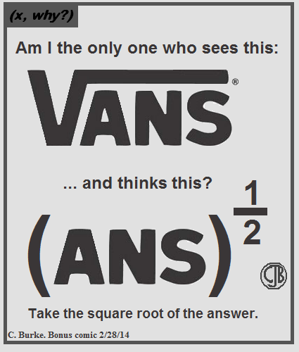 The square root of the answer.